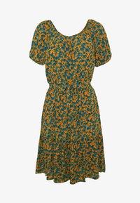 PERCYS - Day dress - orange/blue