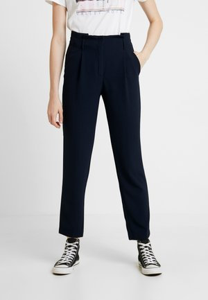 ONLRUNA LILI BELT PANT - Trousers - night sky