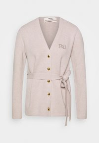 Bally - BELTED CARDIGAN - Kardigan - caillou - 4