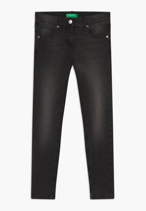 TROUSERS BASIC - Skinny džíny - black denim