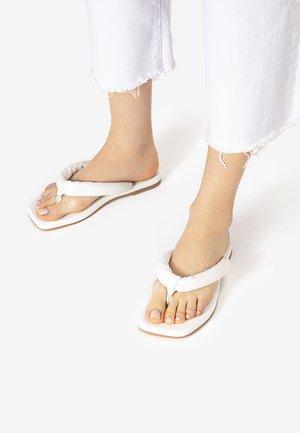T-bar sandals - white wht