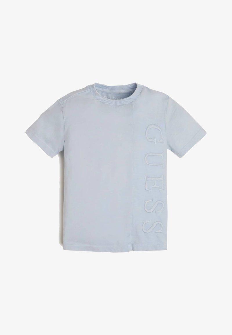 Guess - Print T-shirt -  coast blue