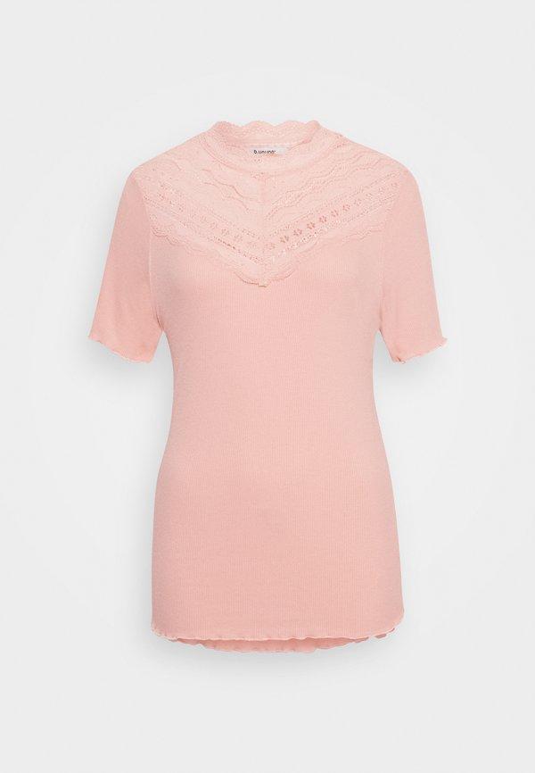 b.young BYTOELLA - T-shirt z nadrukiem - warm rose Kolor jednolity Odzież Damska MAVT LT 9