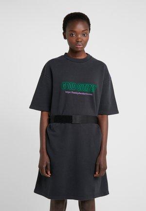 TEE DRESS - Day dress - faded black