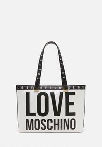 Love Moschino - BIG LOGO SHOPPER - Handbag - bianco - 1