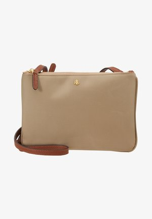 CARTER CROSSBODY MEDIUM - Olkalaukku - clay