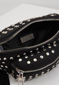 Versace Jeans Couture - STUDDED BUM BAG - Bum bag - black - 5