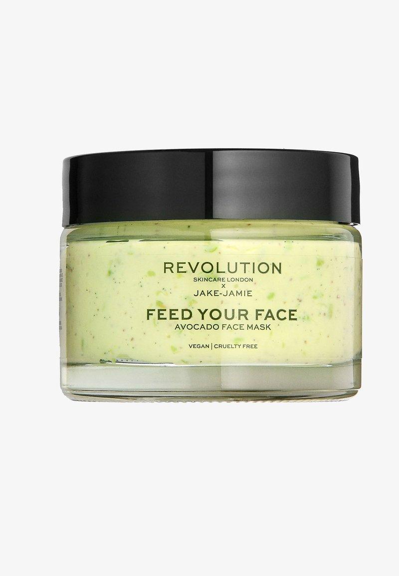 Revolution Skincare - REVOLUTION SKINCARE X JAKE – JAMIE AVOCADO FACE MASK - Masker - -