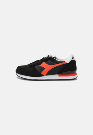 ICONA UNISEX - Trainers - black/red tigerlily