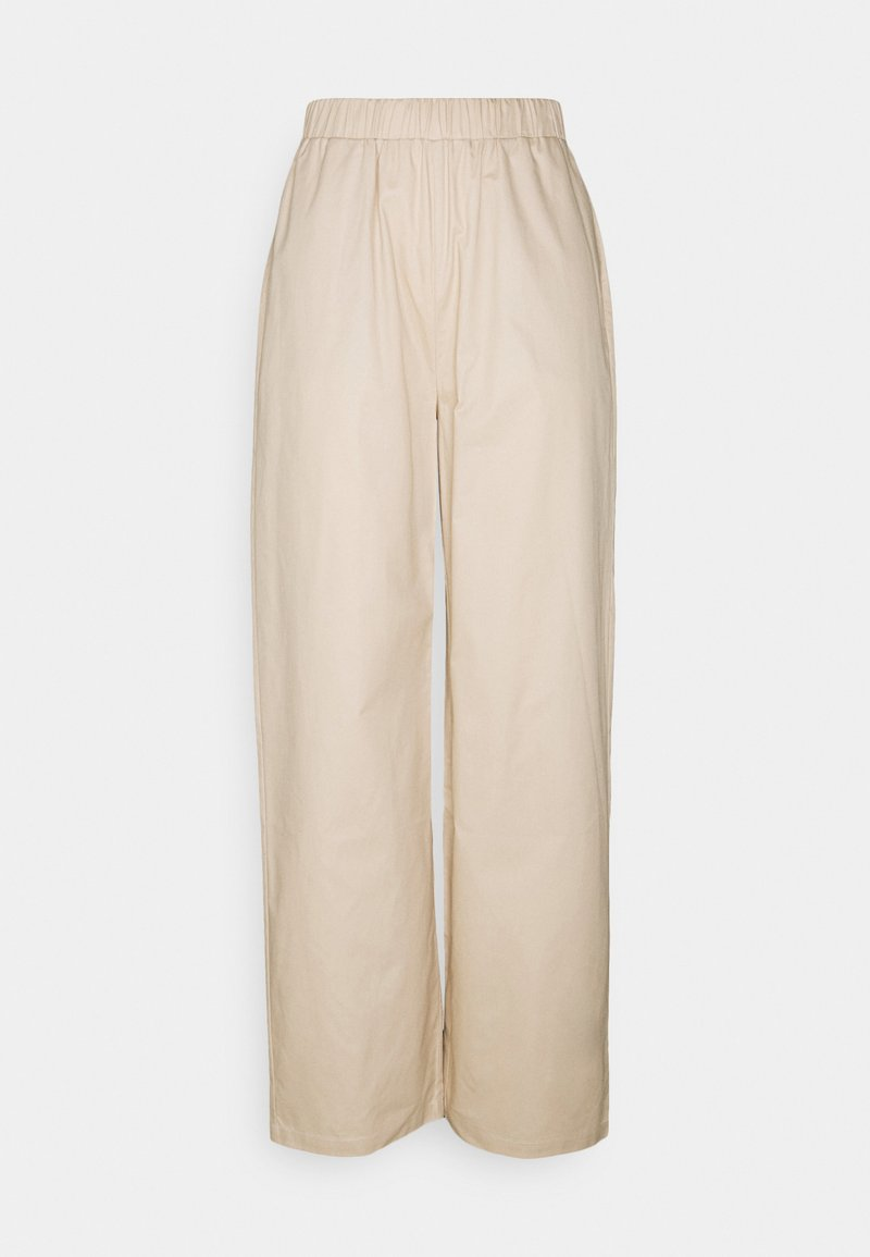 Nly by Nelly - PULL ON STRAIGHT LEG PANTS - Bukse - beige