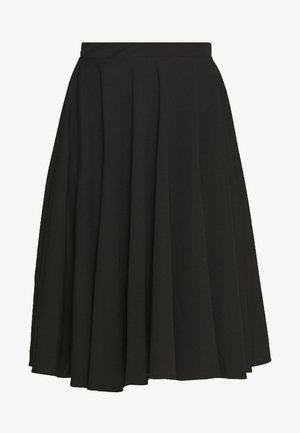 FULL CIRCLE SKATER SKIRT - A-Linien-Rock - black