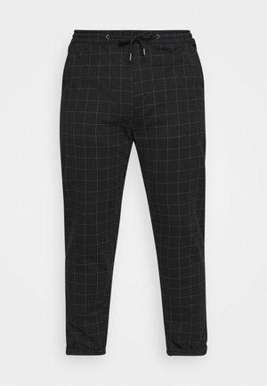 CLUB PANTS ELASTIC WAIST - Pantalones deportivos - black