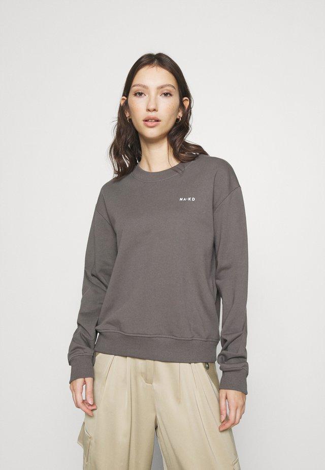 LOGO BASIC - Sweatshirt - grey