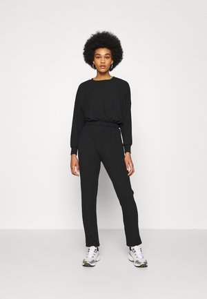 ELASTIC HEM SET - Sweatshirt - black
