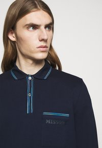 Missoni - LONG SLEEVE - Polo - blue navy - 3