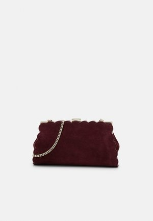 ELAYNNA SCALLOP FRAME EVENING BAG - Pochette - purple