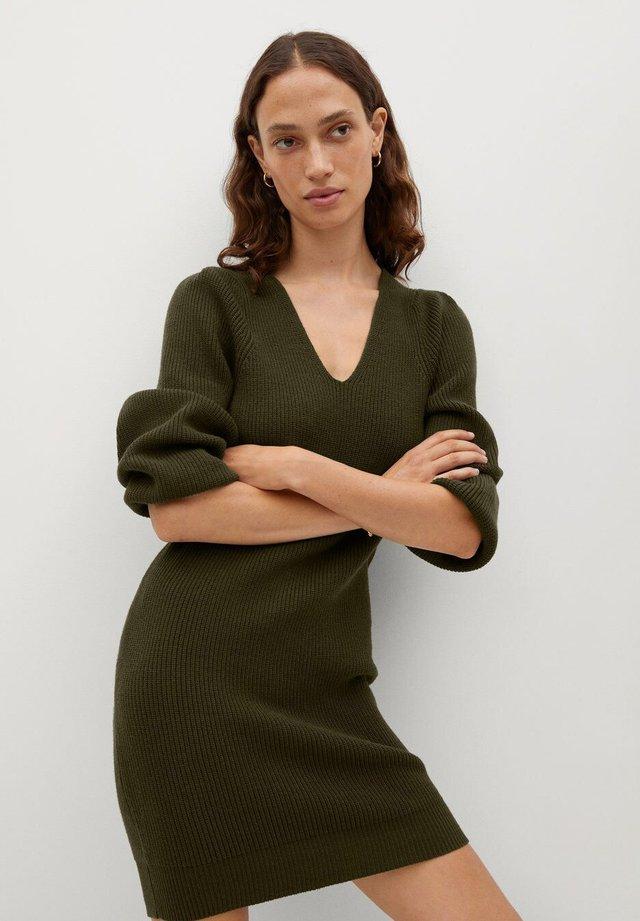 SAYN - Gebreide jurk - khaki