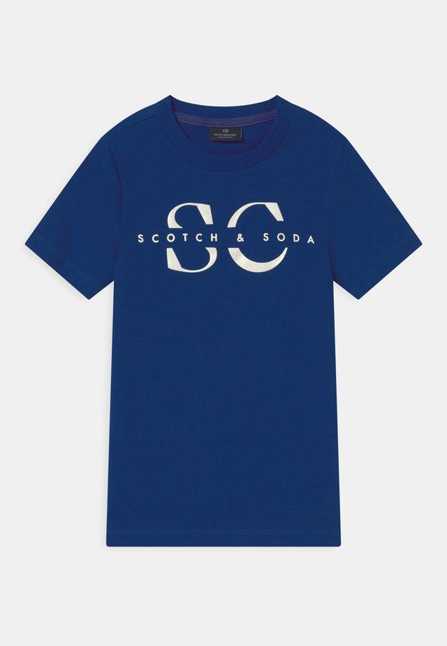 LOGO - Camiseta estampada - yinmin blue