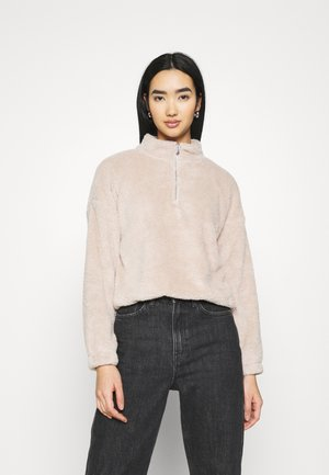 JDYTEDDY ZIP - Sweatshirt - chateau gray
