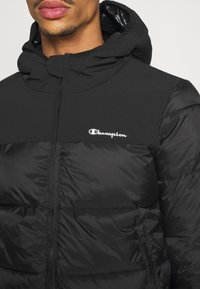 Champion - LEGACY HOODED JACKET - Training jacket - black - 5
