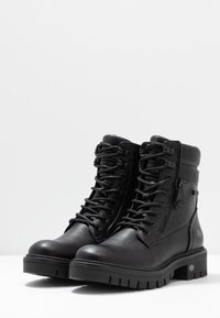 Dockers by Gerli - Lace-up ankle boots - schwarz - 4