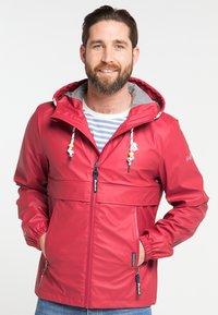 Schmuddelwedda - Waterproof jacket - red - 0