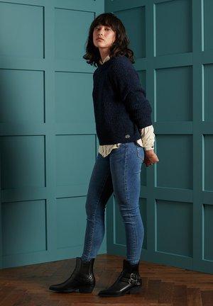 FREYA TWEED - Jumper - boston navy tweed