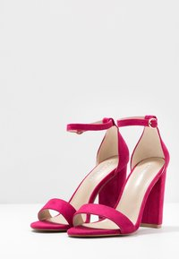 Glamorous Wide Fit - High heeled sandals - pink - 4