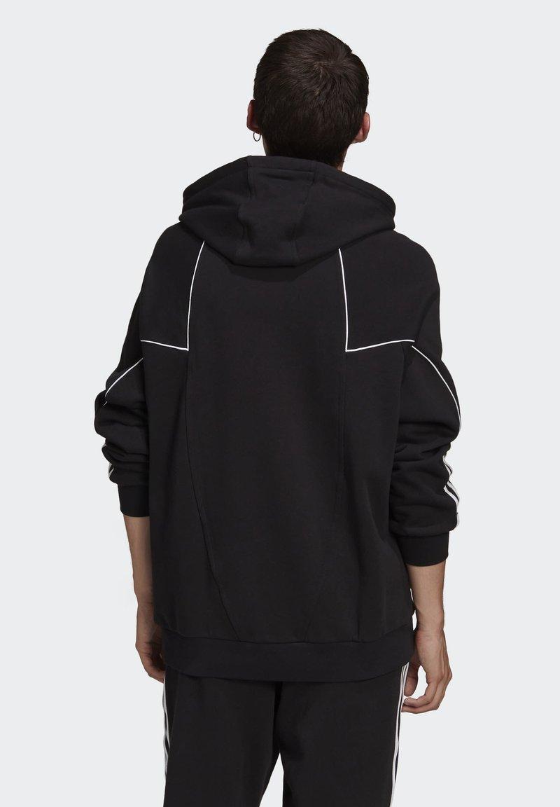 adidas Originals - BIG TREFOIL ABSTRACT HOODIE - Hoodie - black