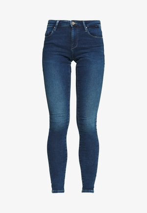 ONLCARMEN JOG - Skinny džíny - dark blue denim