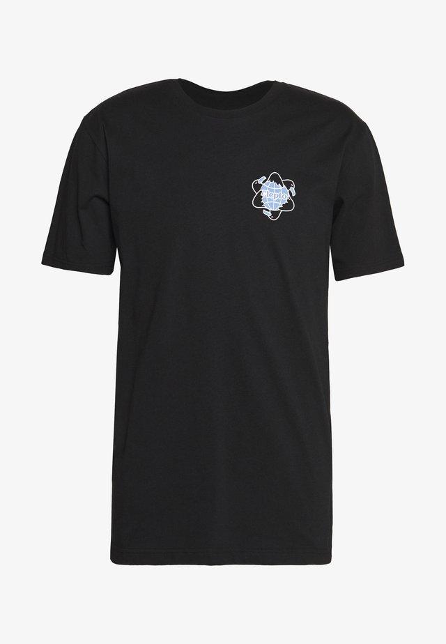 REGULL CYCLE - Print T-shirt - black