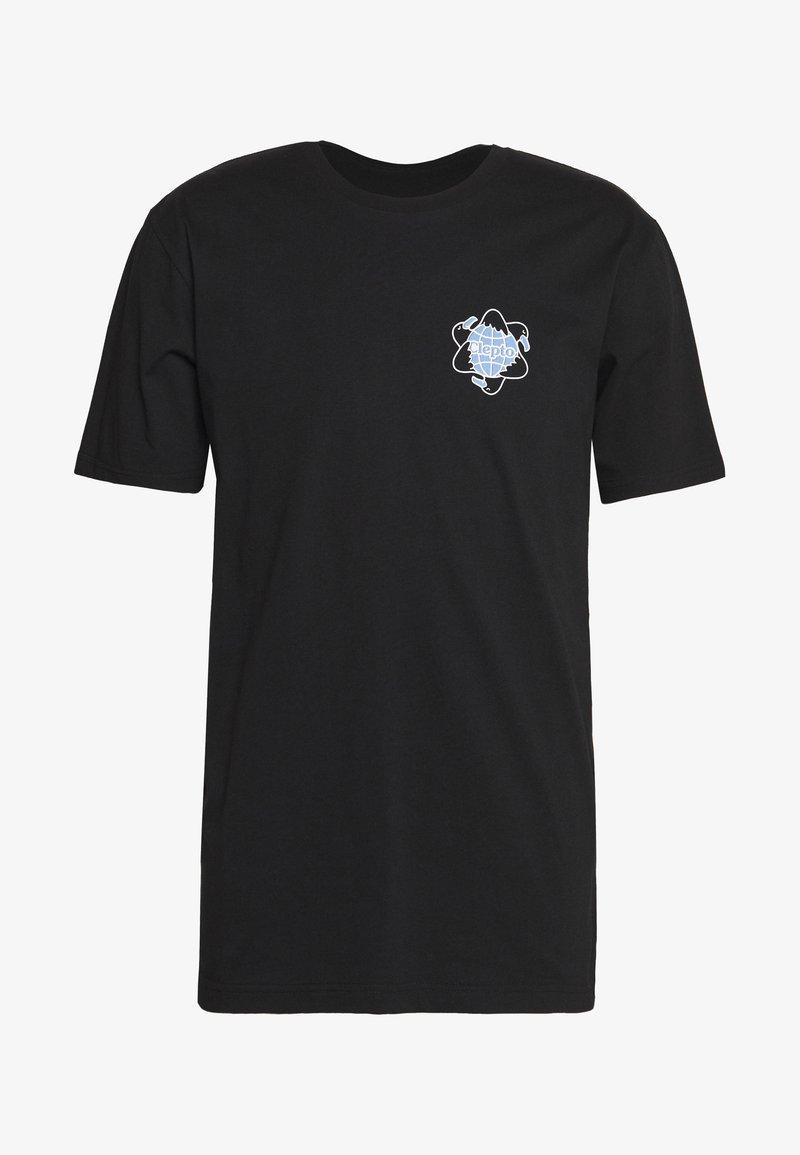 Cleptomanicx - REGULL CYCLE - T-shirt z nadrukiem - black