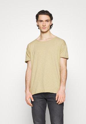 ROGER - Basic T-shirt - oat