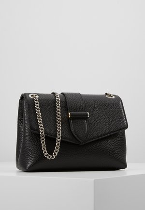 MARIA MEDIUM CHAIN BAG - Across body bag - black