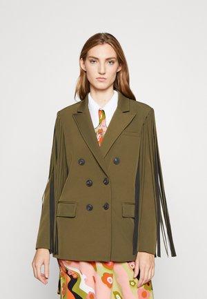 VALERE GIACCA - Krátký kabát - khaki