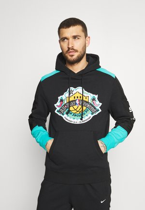 NBA ALL STAR FUSION HOODY - Club wear - black
