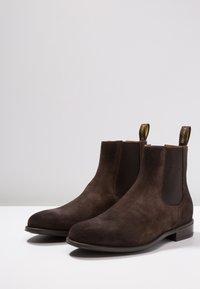 Doucal's - AUGU - Kotníkové boty - testa di moro - 2