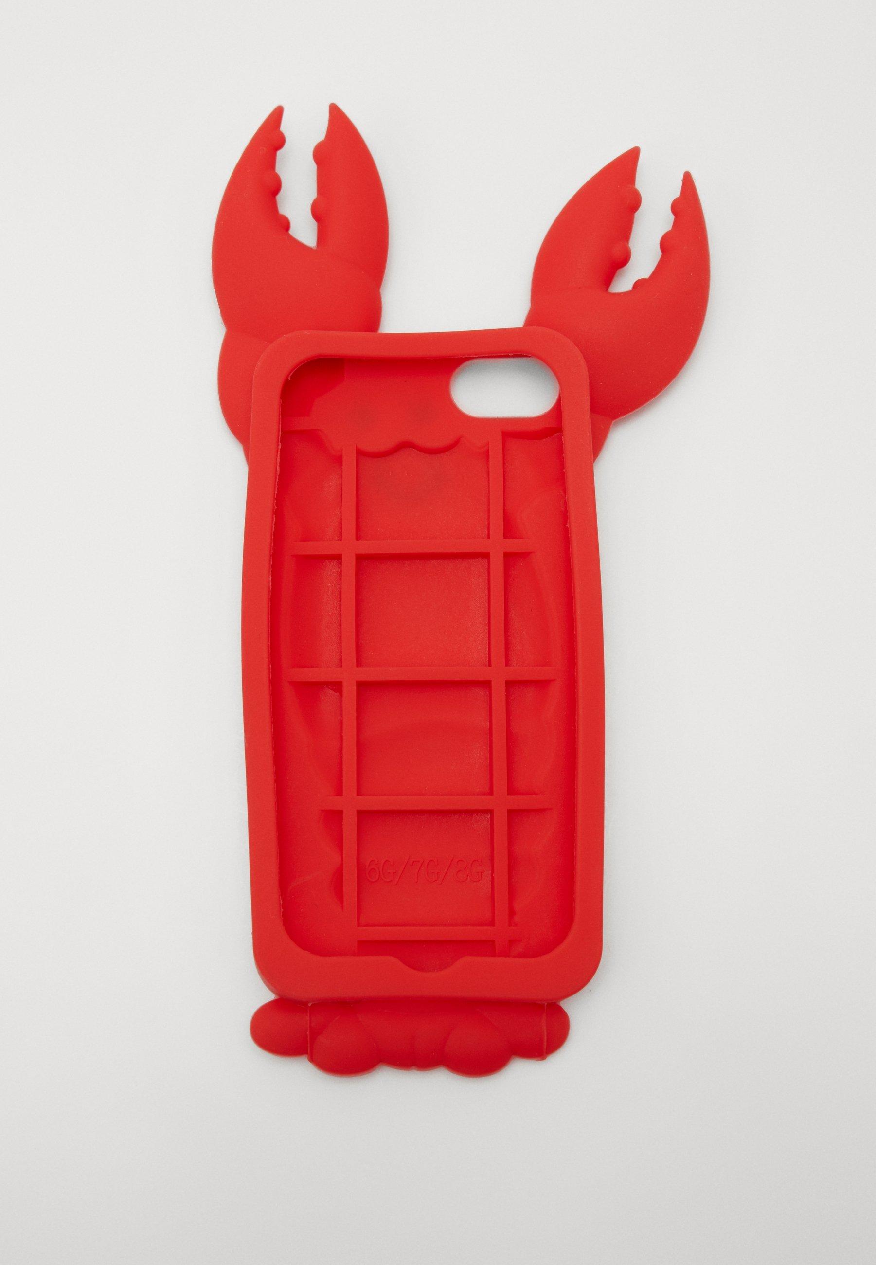 Mister Tee PHONECASE LOBSTER - Mobilveske - red/rød SNGSc801PrN3bY1