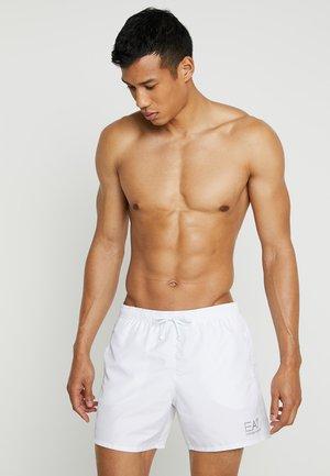 SEA WORLD CORE - Swimming shorts - bianco