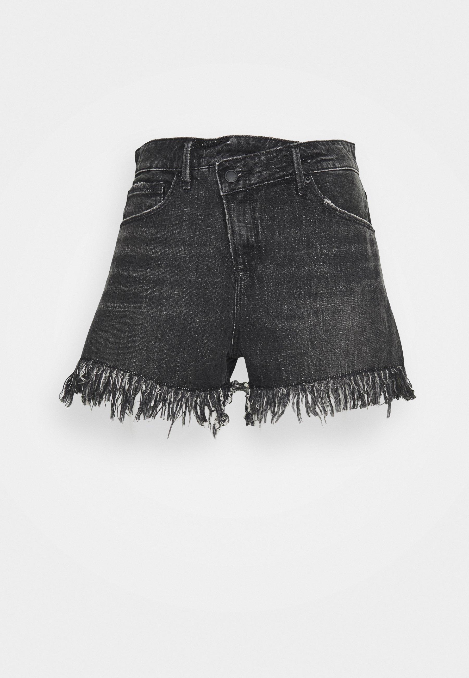Damen GOOD SHORT LONG FRAY HEM - Jeans Shorts