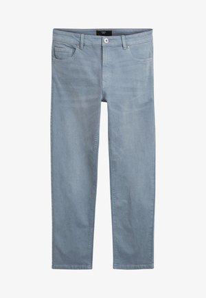 GARMENT DYED - Straight leg jeans - light blue