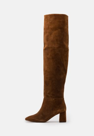 Stivali sopra il ginocchio - cognac