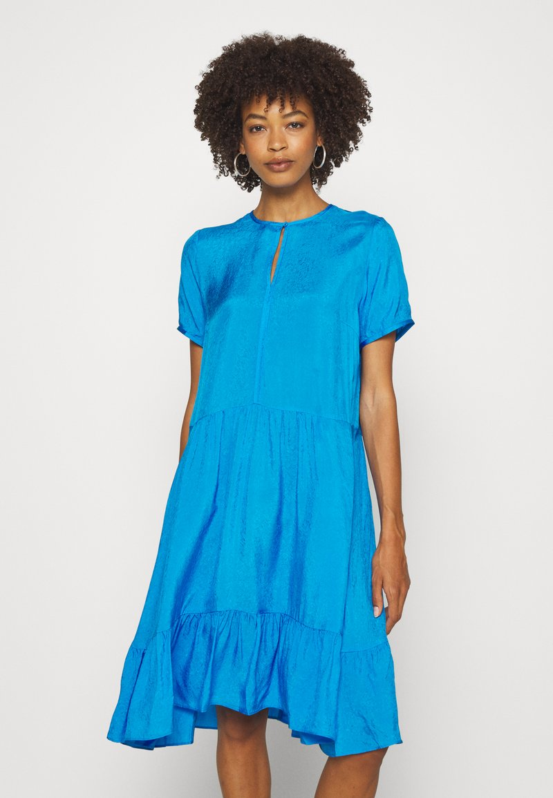 InWear - FEDORA DRESS - Day dress - pacificblue