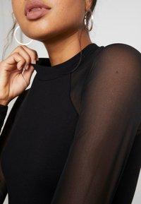 Even&Odd - BODYSUIT - Bluzka z długim rękawem - black - 4