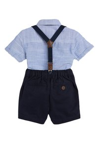 Next - BLUE SHIRT, SHORTS, BOW TIE AND BRACES SET (3MTHS-7YRS) - Shirt - blue - 1
