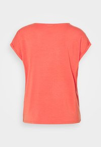 Vero Moda - Jednoduché triko - spiced coral - 1