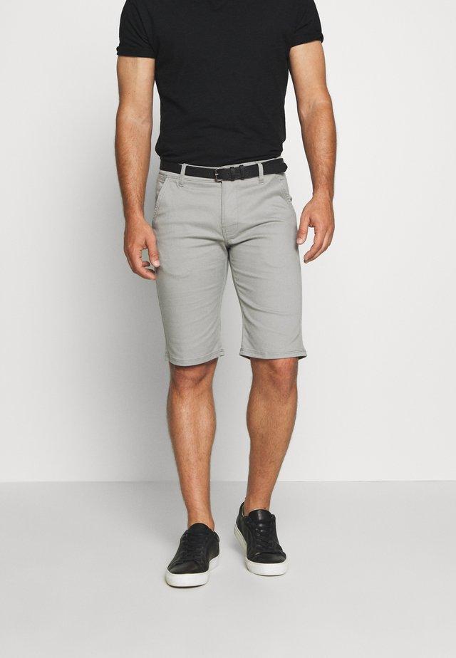 CLASSIC  BELT - Szorty - light grey