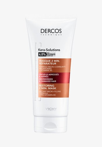 DERCOS KERA-SOLUTIONS MASKE - Hair mask - -