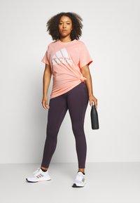 adidas Performance - Print T-shirt - hazcor - 1