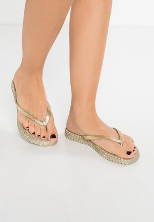 CHEERFUL - Teenslippers - platin
